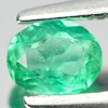 0.26 Ct. Attractive Natural Gemstone Green Emerald Oval Cut Unheated