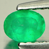 0.23 Ct. Natural Green Emerald Gemstone Oval Shape Unheated
