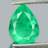 0.43 Ct. Pear Natural Gemstone Green Emerald From Columbia