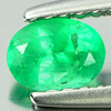 0.30 Ct. Natural Green Emerald Gemstone Oval Shape Unheated