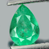 0.26 Ct. Pear Shape Natural Gem Green Emerald From Columbia