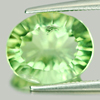 5.48 Ct. Charming Oval Natural Green Fluorite Brazil