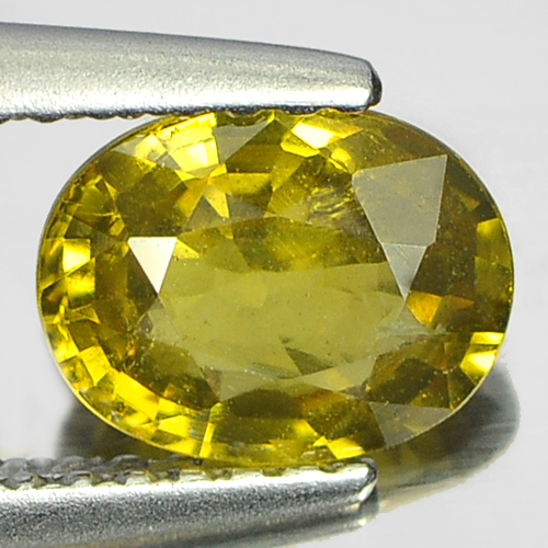 1.17 Ct. Rare Natural Yellownish Green Mali Garnet Gem