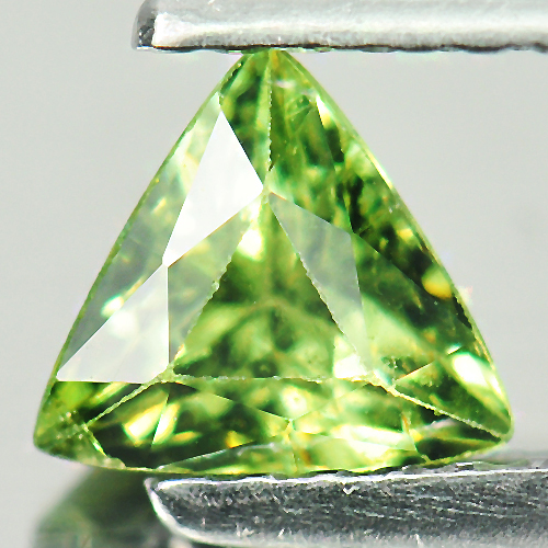 0.67 Ct. Impressive Natural Green Demantoid Garnet Gem