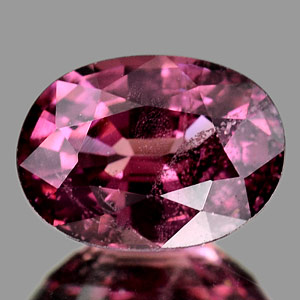 0.91 Ct. Oval Cut Natural Gemstone Purple Pink Rhodolite Garnet Mardagascar
