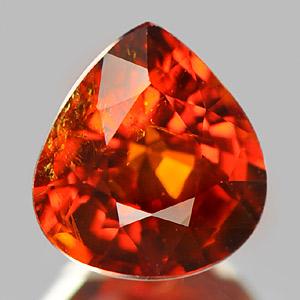Natural Gem 1.13 Ct. Orangish Red Spessartine Garnet