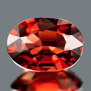 0.96 Ct. Natural Purplish Red Rhodolite Garnet Unheated