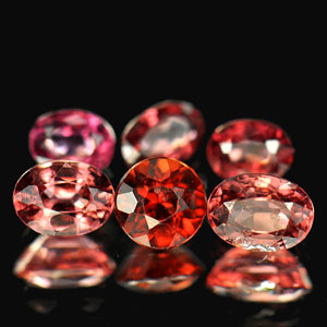 2.30 Ct. Natural Purplish Pink Rhodolite Garnet Gems