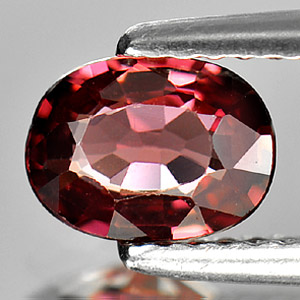 0.89 Ct. Oval Shape Natural Purplish Pink Rhodolite Garnet