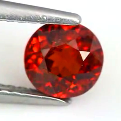 1.28 Ct. Oval Natural Gemstone Orange Spessartine Garnet Unheated