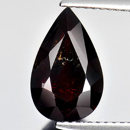 4.06 Ct. Pear Shape Natural Orange Red Spessartine Garnet Unheated