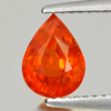 1.58 Ct. Natural Orange Red Spessartine Garnet Unheated