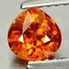 0.93 Ct. Pear Natural Orange Spessartine Garnet Gems