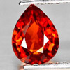 0.98 Ct. Natural Gemstone Pear Shape Orangish Red Spessartine Garnet Unheated