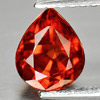 1.50 Ct. Natural Gem Pear Shape Reddish Orange Spessartine Garnet Unheated