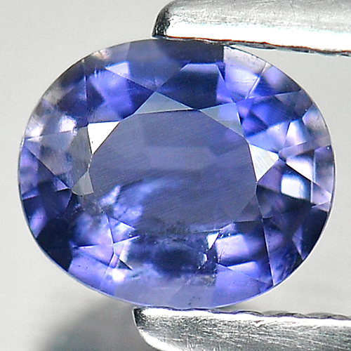 Unheated 0.55 Ct. Oval Natural Gem Violet Blue Iolite