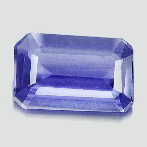 Unheated 0.57 Ct. Octagon Shape Natural Gemstone Violet Blue Iolite