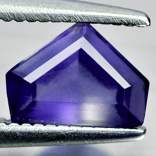 Unheated 0.59 Ct. Fancy Shape Natural Gemstone Violet Blue Iolite