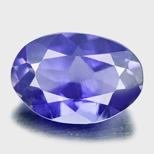 0.70 Ct. Oval Shape Natural Gem Violet Blue Iolite Madagascar Unheated