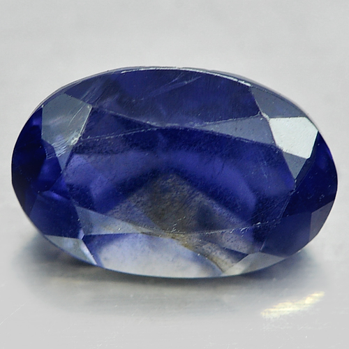 0.95 Ct. Oval Shape Natural Gem Violet Blue Iolite From Madagascar