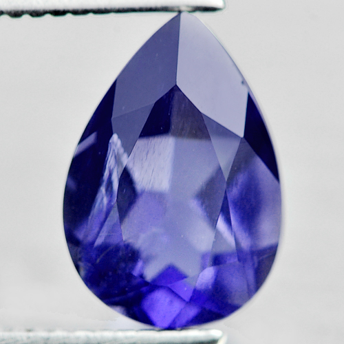 1.30 Ct. Alluring Pear Natural Violet Blue Iolite Madagascar Unheated