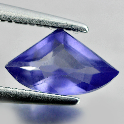 Unheated 0.69 Ct. Fancy Shape Natural Gem Violet Blue Iolite Madagascar