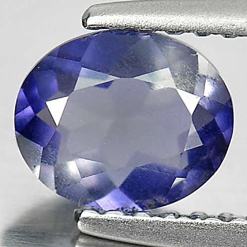 0.60 Ct. Oval Shape Natural Gem Violet Blue Iolite Unheated