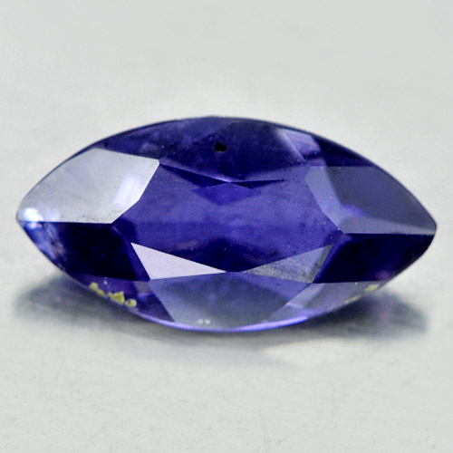 0.58 Ct. Good Marquise Natural Gem Violet Blue Iolite Madagascar