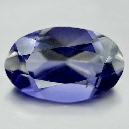 0.94 Ct. Charming Oval Shape Natural Violet Blue Iolite Unheated
