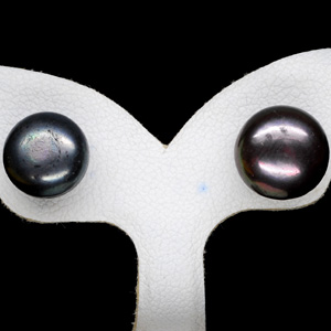 10.19 Ct. Nice Natural Multi Color Pearl Silver Earring