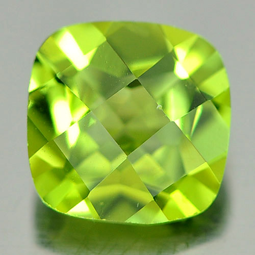 1.55 Ct. Alluring Natural Green Peridot Gemstone Octagon Shape Unheated
