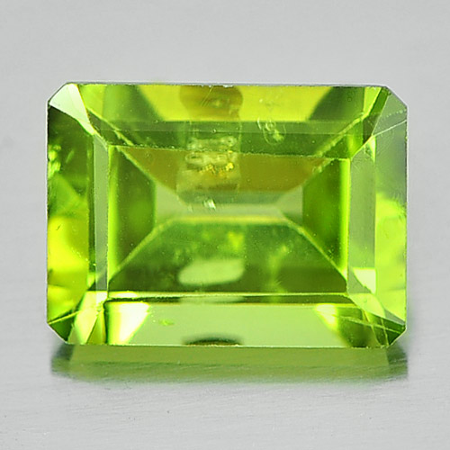 Octagon Shape Gem 1.62 Ct. Natural Green Peridot Unheated