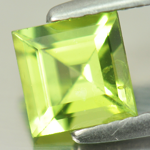 1.10 Ct. Nice Square Natural Gem Green Peridot Unheated