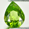 1.69 Ct. Nice Color Natural Gemstone Green Peridot Pear Shape Unheated