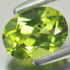 1.46 Ct. Oval Shape Natural Gem Green Peridot Size 8 x 6.1 Mm.