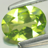 0.97 Ct. Oval Shape Natural Gem Green Peridot Size 7.9 x 6 Mm.