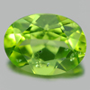 1.34 Ct. 8 x 6 Mm. Oval Shape Natural Gem Green Peridot Unheated