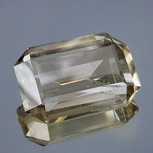 80.25 Ct. Octagon Natural Gem Smoky Quartz Unheated