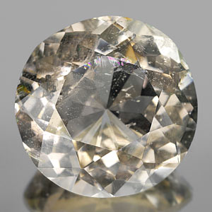167.35 Ct Round Shape Natural Gem Smoky Quartz Unheated
