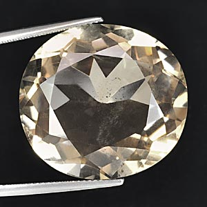 49.45 Ct. Oval Shape Natural Gem Smoky Quartz Unheated