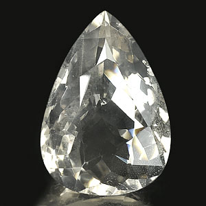 Unheated 167.02 Ct. Pear Shape Natural Smoky Quartz Gemstone