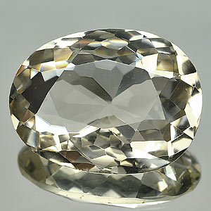 130.14 Ct. Natural Gemstone Smoky Quartz Oval Cut