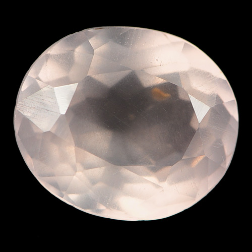 4.63 Ct. Oval Shape Natural Rose Pink Quartz Unheated
