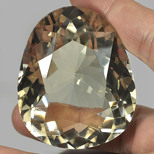 Nice Gemstone 265.85 Ct. Pear Shape Natural Smoky Quartz Brazil