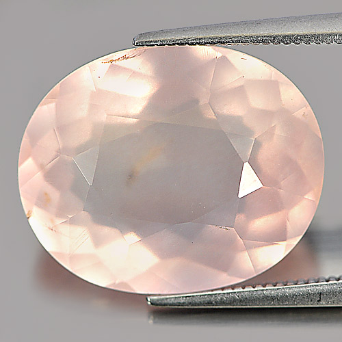 12.48 Ct. Nice Oval Natural Gem Rose Pink Quartz Unheated