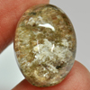 23.68 Ct. Oval Cabochon 21 x 15.4 Mm. Natural Gemstone Moss Quartz Unheated