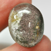 30.33 Ct. Natural Gemstone Moss Quartz Oval Cabochon 23 x 18  Mm. Unheated