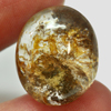 21.00 Ct. Natural Gemstone Moss Quartz Oval Cabochon 19.4 x 16.4 Mm. Unheated