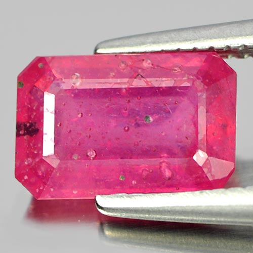 1.56 Ct. Alluring Octagon Natural Gem Pink Ruby Mozambique