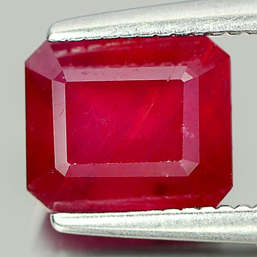 2.21 Ct. Incredible Natural Blood Red Ruby Madagascar